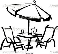Patio Furniture Clipart 1