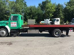 1999 INTERNATIONAL 4700 ROLLBACK TOW TRUCK FOR SALE #583361
