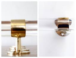 Lucite Curtain Rods Nomad Luxuries