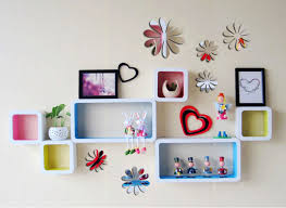 Kilimall DIY 3D Flowers Wall Sticker Mirror Art Decal PVC Paper For Home Showcase
