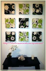 Decoration Framed Fabric Wall Art Arts Frames Picture Frame Ideas In 2018 Diy