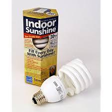 indoor sunshine single 30 watt spiral bulb compact fluorescent