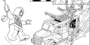 Lego Marvel Coloring Pages Download Print