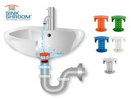 Bathroom Sink Drain Hair Stopper by Say Goodbye To Clogging Sinks With The Sinkshroom Hair Catcher