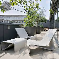 Sponeck Chair Modern Concrete Architectural Design Garden