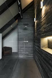 naturstein dusche mit mustang schiefer bruchroh