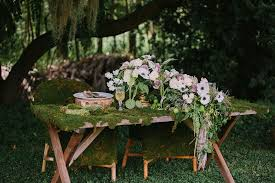 Whimsical Enchanted Forest Wedding Dream On Soft Beds Of Green