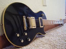 1975 Gibson Les Paul Custom With Maple Fretboard