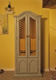 Locked Liquor Cabinet Furniture by Dining Room Interesting Wine Rack Design With Locking Liquor Cabinet