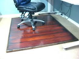 Plastic Floor Mat For Office Desk Chair Protector Mats