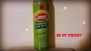 comet foaming cleanser youtube