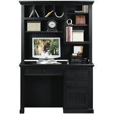Black Corner Computer Desk With Hutch by Delighful Black Computer Desk With Hutch V Throughout Design