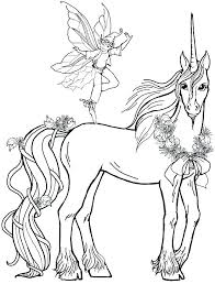 Unicorn Coloring Page Pages Of Pictures Fairy Boy With Colouring