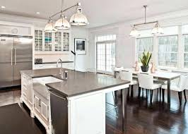 Dark Wooden Floors Kitchen White With Wood Traditional Kitchens Modern