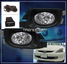 2003 2004 2005 honda accord sedan 4dr jdm bumper fog light l