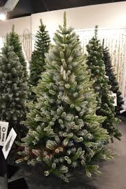 Flocked Christmas Trees Uk by Premier 6ft 180cm Mountain Snow Fir Christmas Tree With 787 Tips