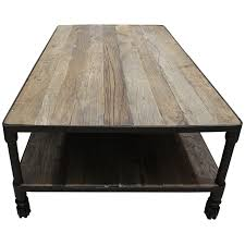 Industrial Wheels Table WOO Design