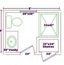 5x9 Or 5x8 Bathroom Plans