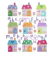 Shed Anchor Kit Instructions by Village Abc Sampler Cross Stitch Anchor Threads Cross Stitch