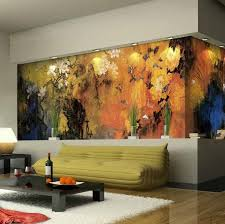 nature wall decals for family room home interior design ideas