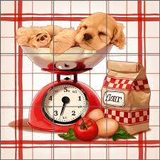 Check Out The Deal On Cazenave Puppy Kitchen Ceramic Accent Decor Tile