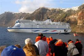 greek cruise ship sinks photo 1 pictures cbs news