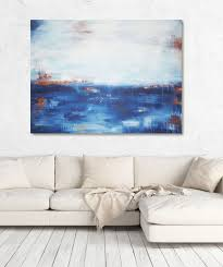 moderne bilder fürs wohnzimmer abstrakte malerei