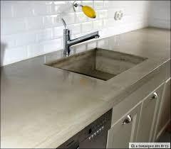 plan de travail en r駸ine pour cuisine plan de travail en resine pour cuisine get green design de maison
