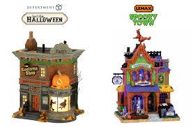 Dept 56 Halloween Village by Myscaryblog Com Department 56 Vs Lemax Halloween Villages