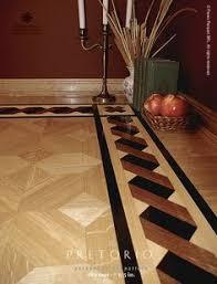 Hardwood Floor Border The PRETORIO Pattern Manufactured By Pavex Parquet