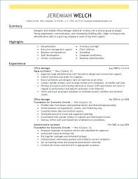 Construction Administration Resume Examples Feat For Administrative Assistant Example Medical Office