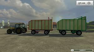 100 Silage Trucks Wagon Pack GamesModsnet FS19 FS17 ETS 2 Mods