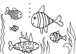 17 Fish Tank Coloring Pages