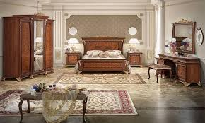 schlafzimmer aida mobilpiu nussbaumfarbe