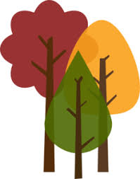 Fall Trees Clip Art