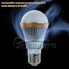 high tech e27 5w white anion led l smoke air cleaner