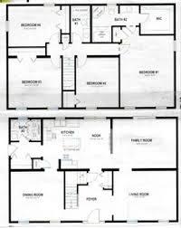 Pole Barn Home Floor Plans With Basement by 30 X 40 4 Bedroom 2 Bathroom Rectangle Barn House With Loft Used