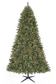 9ft Christmas Tree Walmart by 9 U0027 Grand Fir Christmas Tree With Clear Lights Christmas Tree Market