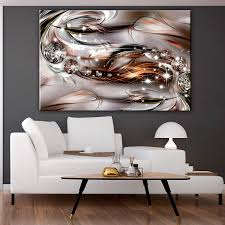 decomonkey akustikbild abstrakt 120x40 cm 1 teilig bilder