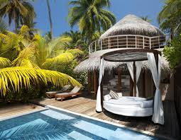 100 W Retreat And Spa Maldives Maldives Beach Oasis Exterior Flickr