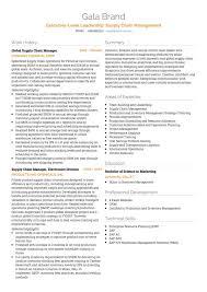 Logistics CV Examples And Template