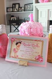 Pink And Gold Birthday Themes by Rose Themed Birthday Party Princess Turned Mom