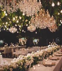 Greenery Ceiling Decoration Ideas For Wedding Reception