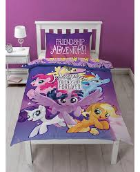 my little pony movie single duvet cover and pillowcase set bedroom