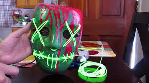 Halloween Club Purge Mask by The Best Purge Lady Liberty Mask Tutorial Abra Cadaver Youtube