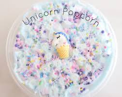 Unicorn Popcorn Slime Shop Scented