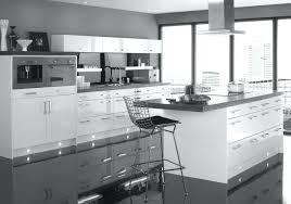 Grey And White Kitchen Ideas Kitchens Dark Floor Modern With Cabinets