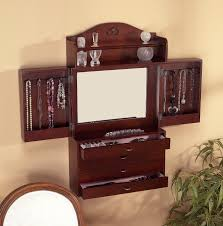 Amazon.com: Southern Enterprises Jewelry Armoire Wall Mount With ... 102 Best Jewelry Armoire Images On Pinterest Armoire Fniture Mirrored Wardrobe Mahogany Locking With Personalized Eraving With Amazoncom Belham Living Luxe 2door Finish Cherry Wood Charming Cheval Mirror Ideas Decor Pretty Design Of Walmart Perfect For Standing White Ikea Large Size Armoirefloor Gannon Multiple Colors By Acme 97211acme Burnished Oak Round Hayneedle