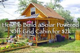 how to build a small cabin archives off grid world