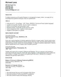 Computer Engineering Resume Samples Software Engineer Examples